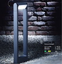 LED-Wegeleuchte Bollard in anthrazit