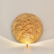 LED-Wandleuchte Traversa, gold