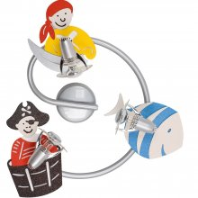 Kinder Spot Spirale Pirate 3-flammig