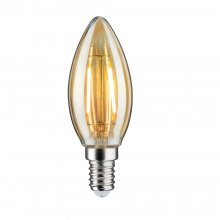 Filament E14 LED Kerze 4,5W, 2500K gold, dimmbar