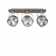 LED Strahler Ball Chrom Nickel