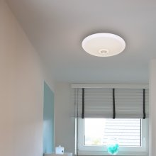 LED-Deckenleuchte Dome light, neutralweiß