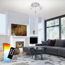 LED Deckenleuchte Q®-Amy , Smart Home 3-flammig
