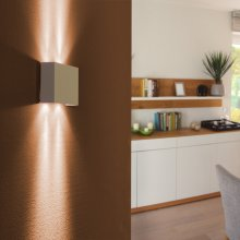Moderne Up & Down LED-Wandleuchte