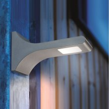 LED Wandleuchte T-Line in anthrazit