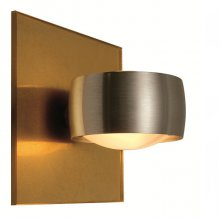 Wandleuchte Grace Unlimited Gold matt / Aluminium