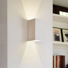 LED-Wandleuchte Parma 160 Up & Down, Gips