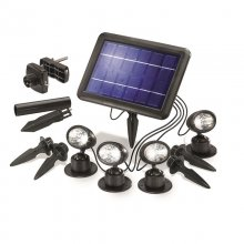 LED-Solarspots Quattro Power