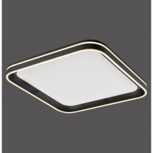 LED-Deckenleuchte, anthrazit, Smart-Home, ca.60 x 60 cm