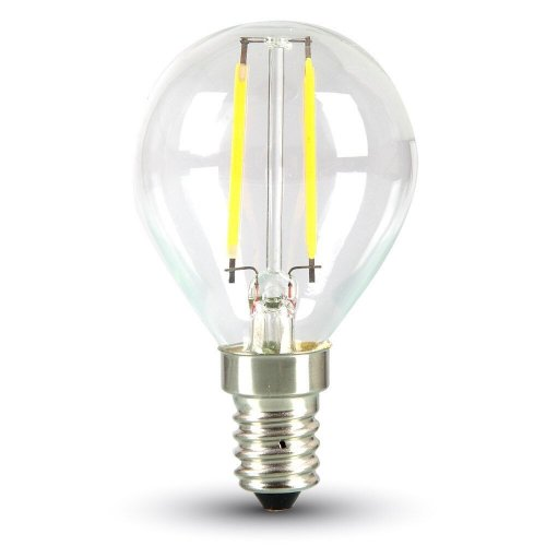 LED Tropfen E14 2 Watt 180 Lumen 2700 Kelvin  - Modell 4262 VT-1896 von Apollo-LED