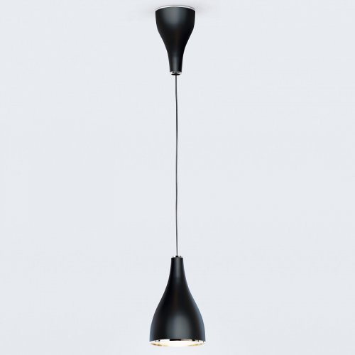 Pendelleuchte One Eighty verstellbar, Schwarz  - Modell  von Serien Lighting