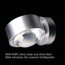 Puk Maxx Wall LED Kopf, chrom-matt