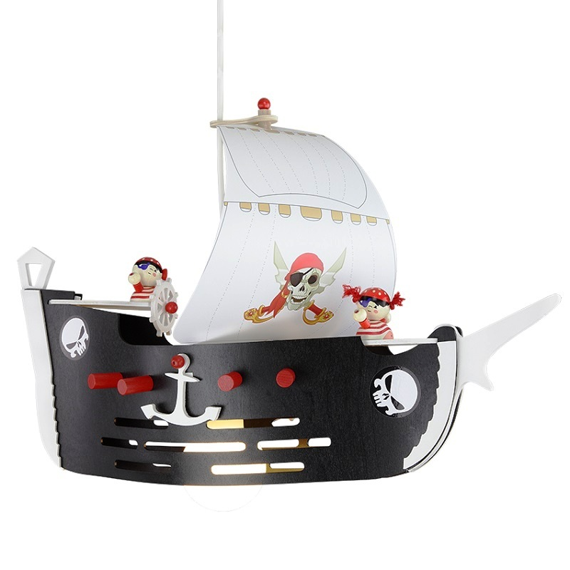elobra pendelleuchte f r das kinderzimmer piratenschiff 127148 deutsche. Black Bedroom Furniture Sets. Home Design Ideas