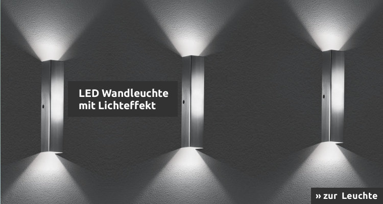 LED Wandleuchte Case